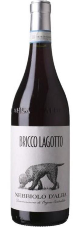 Bricco Lagotto Barbera d´Alba Rotwein 2018