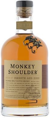 Monkey Shoulder Blended Malt Scotch 0,7 L