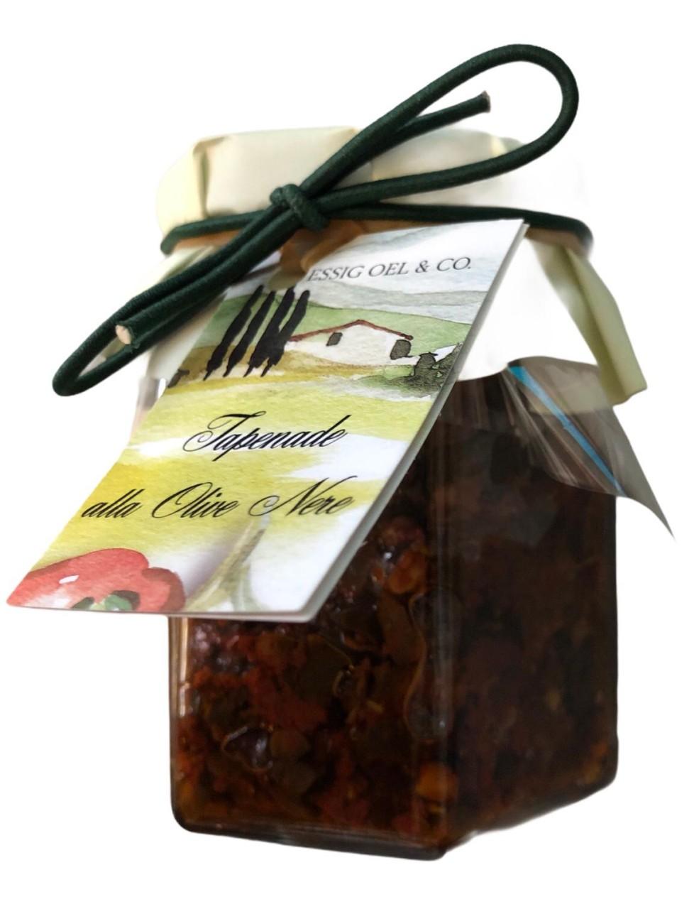 Essig Oel & Co. Tapenade alla Olive Nero 180 g
