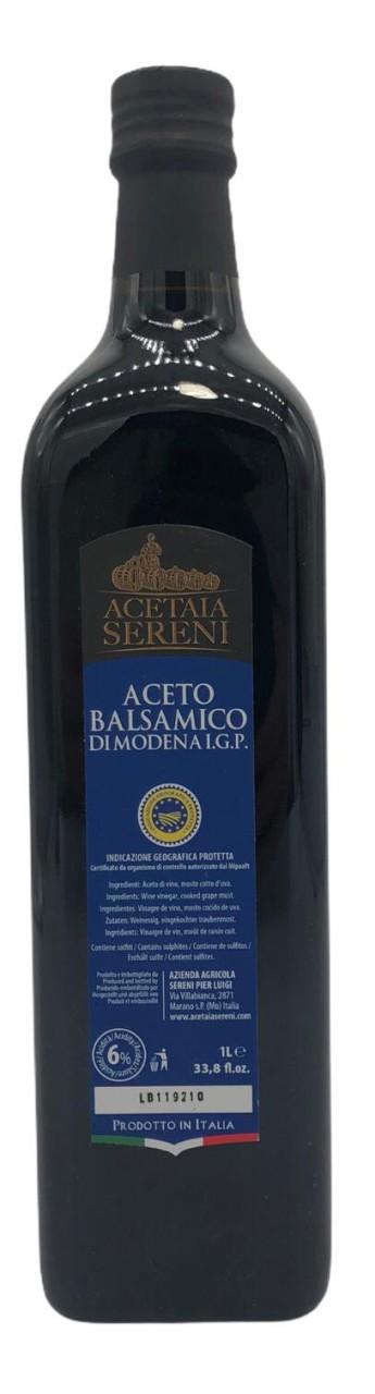 Acetaia Sereni Aceto Balsamico di Modena I.G.P Blue Label 1l