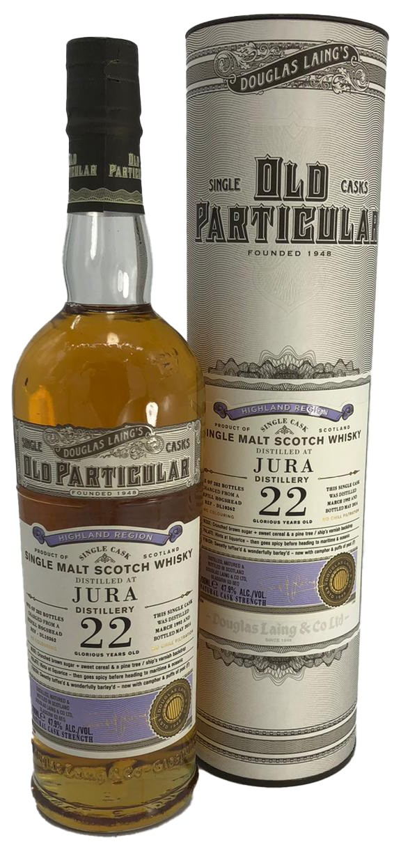 Old Particular 22 Years Old - Jura - Douglas Laing´s