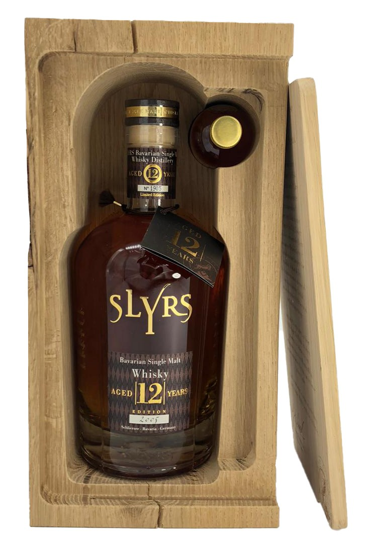 Slyrs 12 Years - In OHK - + 50 cl Flasche