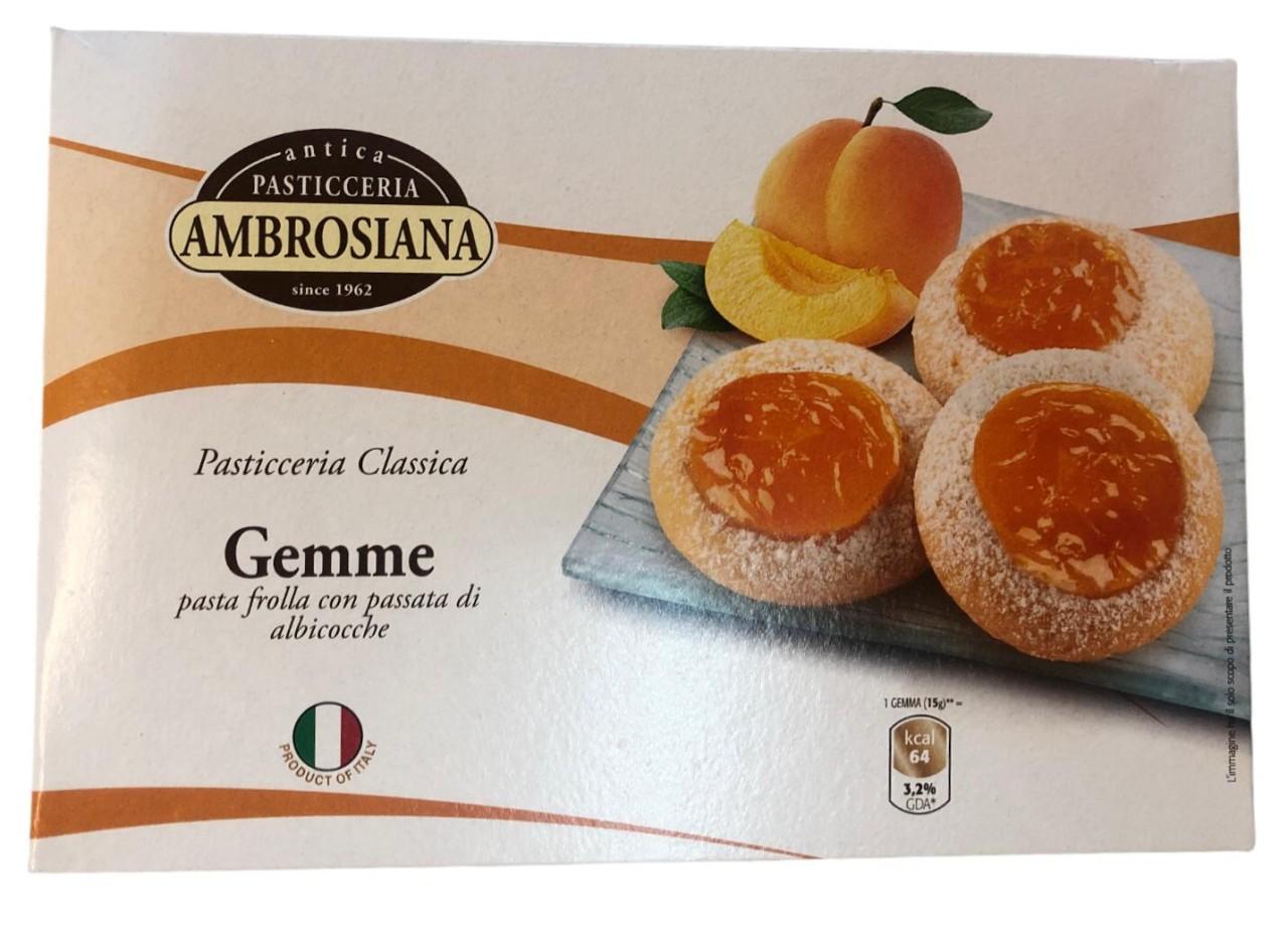 Pasticceria Ambrosiana Gemme albicocche 150g