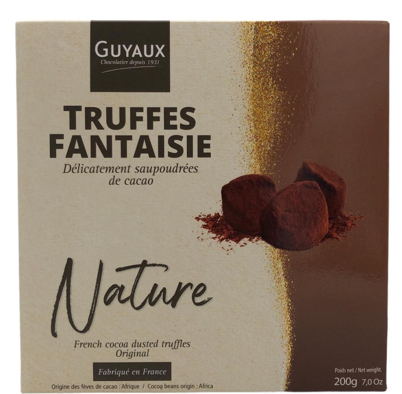 Guyaux Truffes Fantaisie Nature 200g