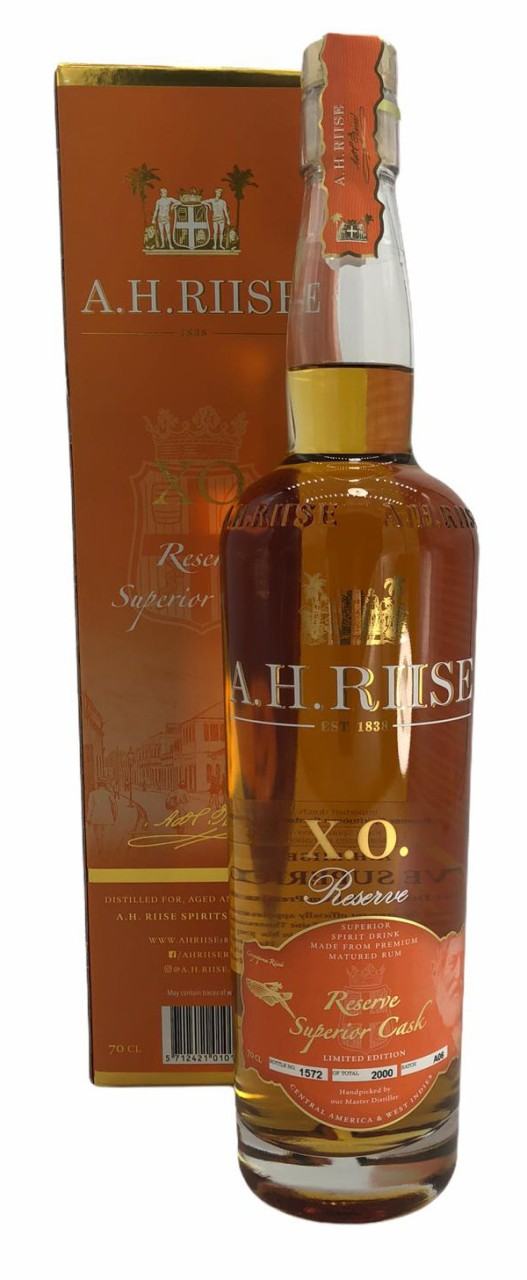 A.H. Riise X.O. Reserve Superior Cask